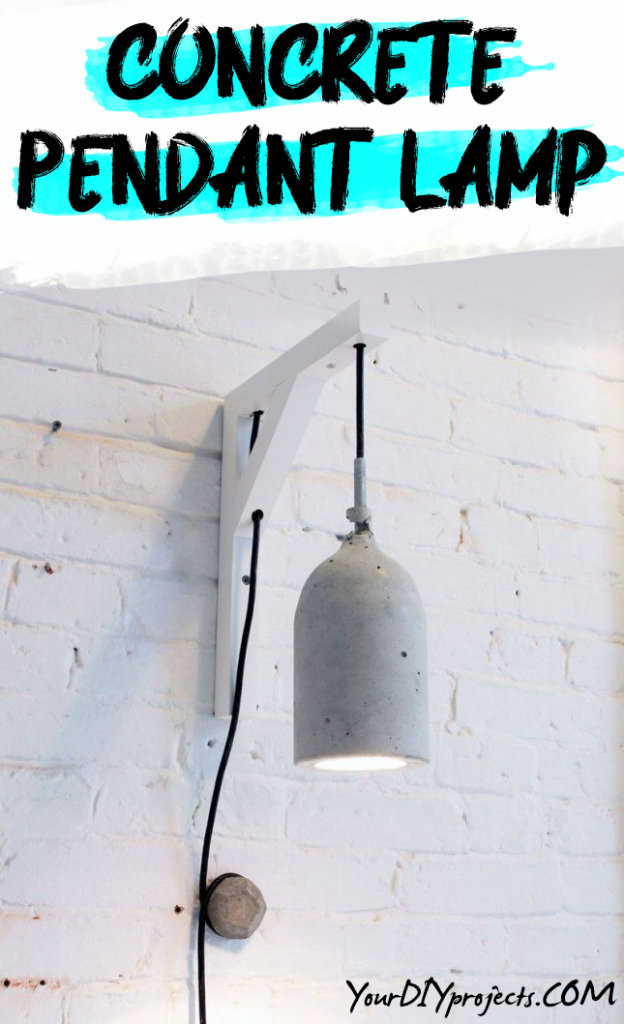 Concrete Pendant Lamp DIY