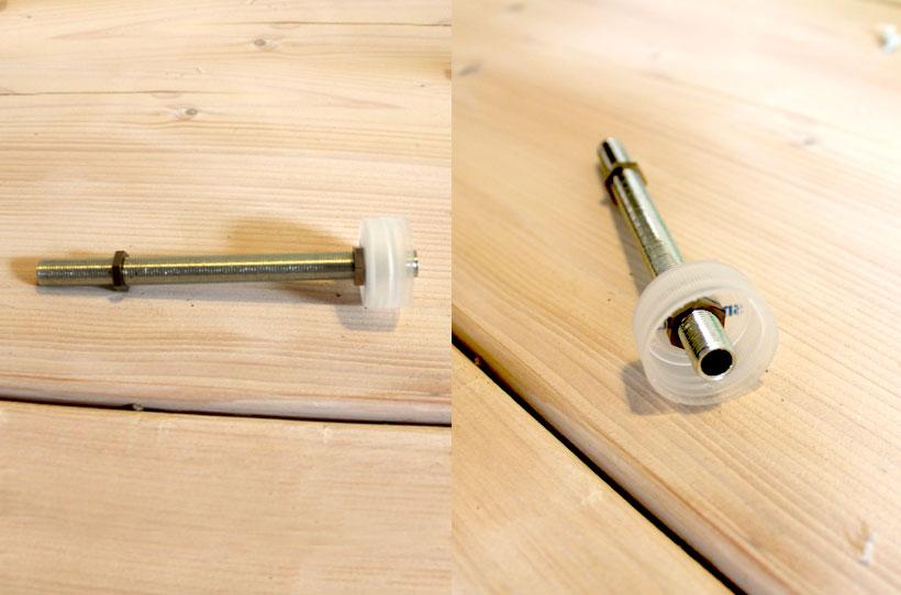 Concrete Pendant Lamp Bottle Caps